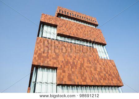Museum Aan Der Stroom, Antwerp, Belgium