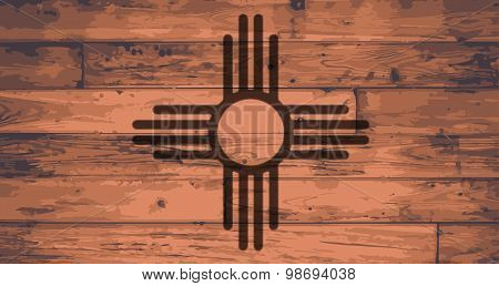 New Mexico State Flag Brand