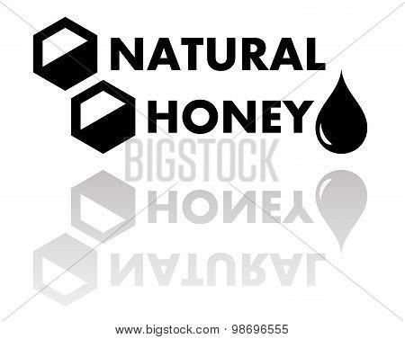 natural honey symbol