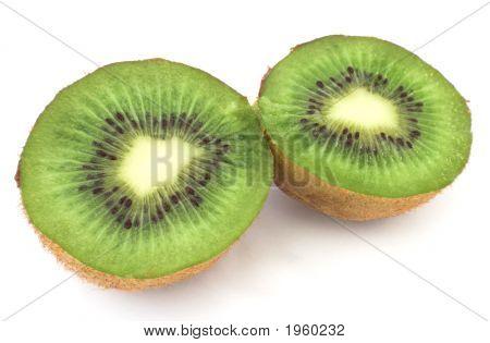 Halved Kiwi