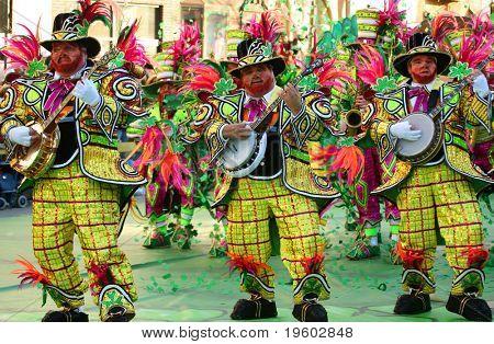 Philadelphia new years day mummer parade 2008