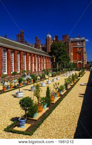Hampton Court  Oranges Garden