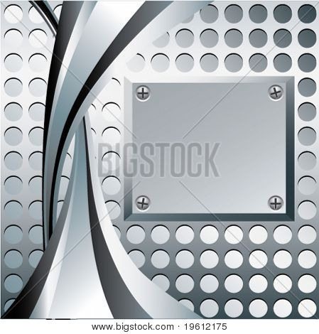Background with lines. Vector.