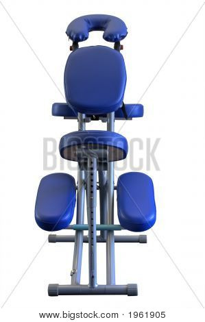 Massage Chair (Isolated)