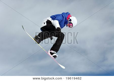 Snowboarder Flight