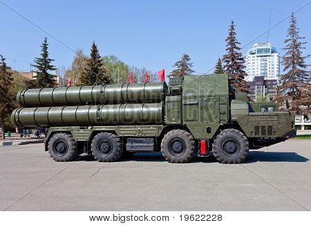 Russian Antiaircraft Complex S-300