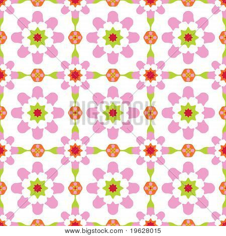 Seamless tile design