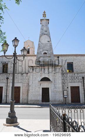 St. Giacomo Church. Barletta. Apulia.