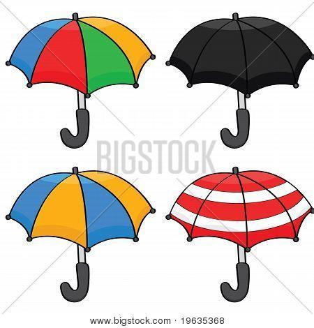Cartoon-Schirme