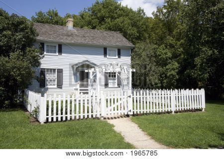 Little House White Picket Fence