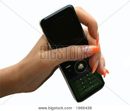 Manicure And Phone