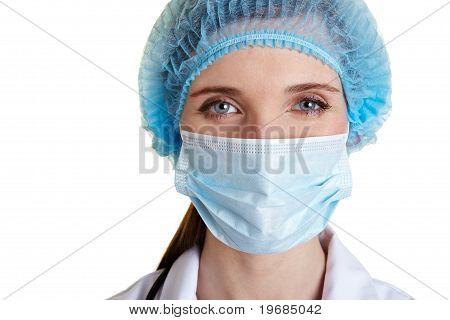 Portrait Of A Surgical Nurse