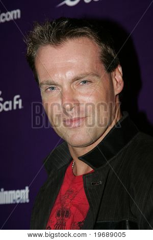 SAN DIEGO, CA - July 26: Actor Michael Shanks attends the annual Comic Con International SciFi Channel party hosted by Entertainment Weekly on July 26, 2008 in San Diego, CA.