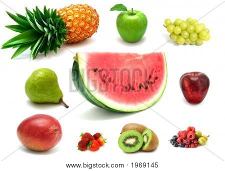 Sweet Berries And Fruits
