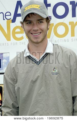 TARZANA, CA - APRIL 18: Jeremy Sumpter arrives at the 8th annual