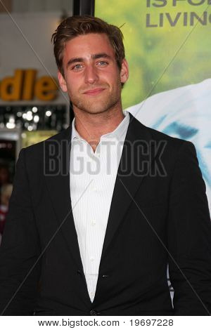 """LOS ANGELES - JUL 20:  Oliver Jackson Cohen arrives at the """"Charlie St. Cloud"""" Premiere at Village Theater on July20, 2010 in Westwood, CA ...."""