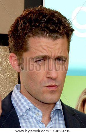 LOS ANGELES - JUL 27:  Matthew Morrison arrives at Fox's