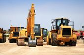 picture of heavy equipment  - construction equipment - JPG