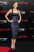 LOS ANGELES - JUL 13:  Marion Cotillard arrive at the Inception Premiere at Grauman's Chinese Theate
