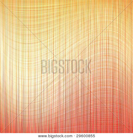 abstract waves golden orange background