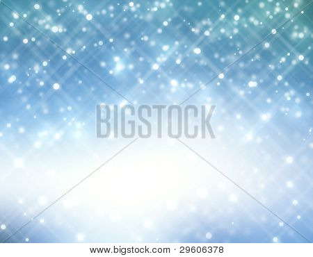 Glitter of color christmas lighting background
