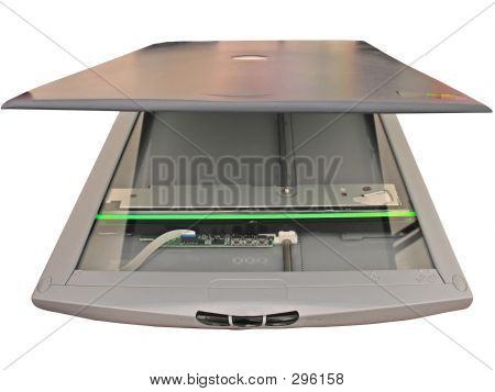 Flatbed Scanner Working
