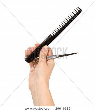 Hand Hairdresser
