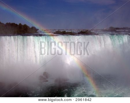 Rainbow At Niagra
