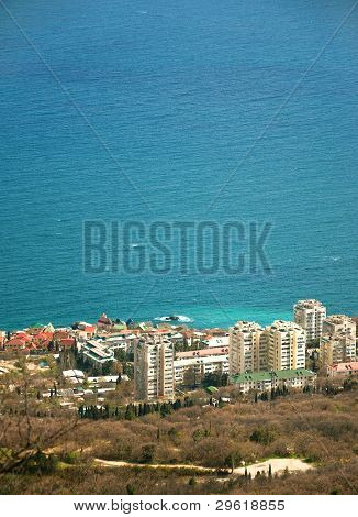 A Resort Townlet Of Foros, Crimea, In Spring