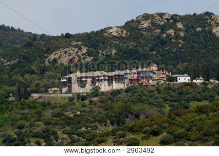 Xiropotamou Holy Monastery Mount Athos Halkidiki Greece