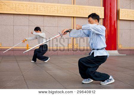 Tai Chi Chuan Crouch