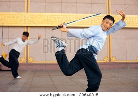 Tai Chi Chuan One Leg Standing