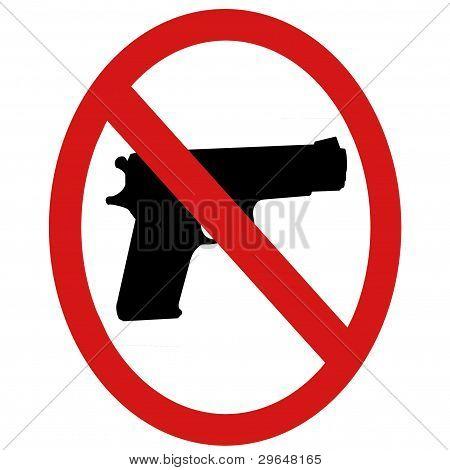 Weapons Warning Symbol