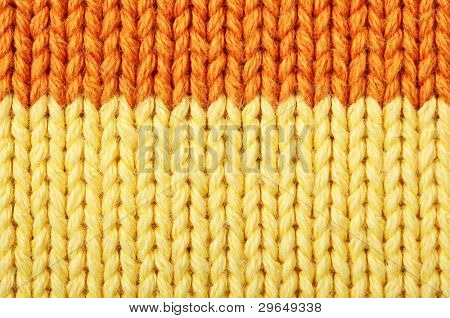 Woolen texture