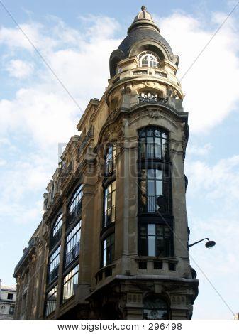 Narrow Building In Paris