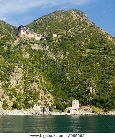 Simonos Petra Holy Monastery Mount Athos Halkidiki