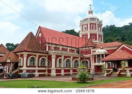 Shri Shantadurga,famous Hindu Temple In Ponda .Goa