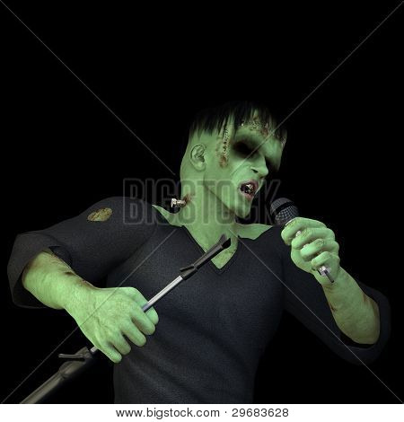 Frankenstein's Monster Singing