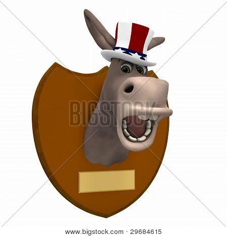 Democrat Mounted