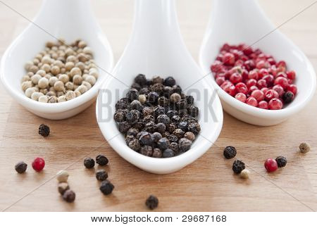 Mix Of Peppercorns