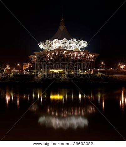 The new Sarawak State Legislative Assembly Building