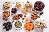 Dried Fruits And Nuts poster