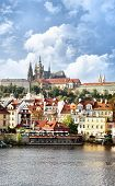 Cityscape of Prague, Chech republic