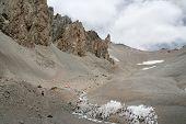 stock photo of aconcagua  - Camp One on Aconcagua - JPG