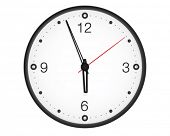 picture of tick tock  - Office wall clock - JPG