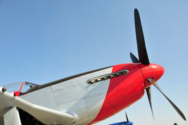 pic of fighter plane  - The famous North American P - JPG