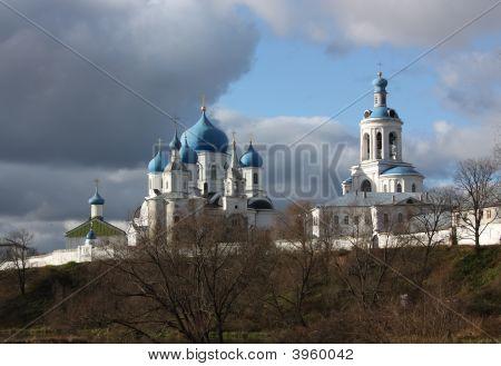 House Of Bogolyubskaya Theotokos In Authumn