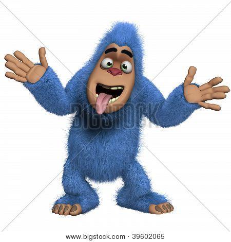 Crazy Blue Yeti