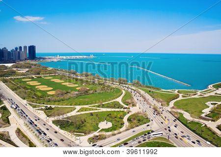 Columbus And Lake Shore Drive