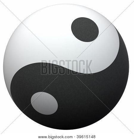 Yin-yang Ball